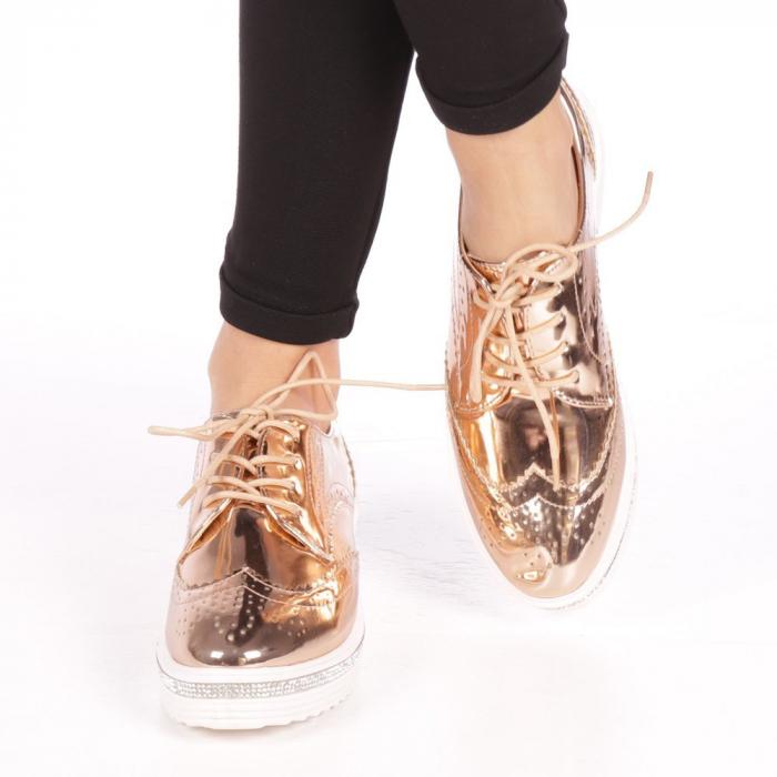 Pantofi dama Jaya nude 2