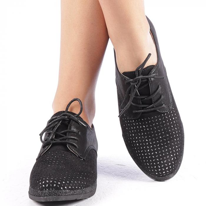 Pantofi dama Katie negri 4
