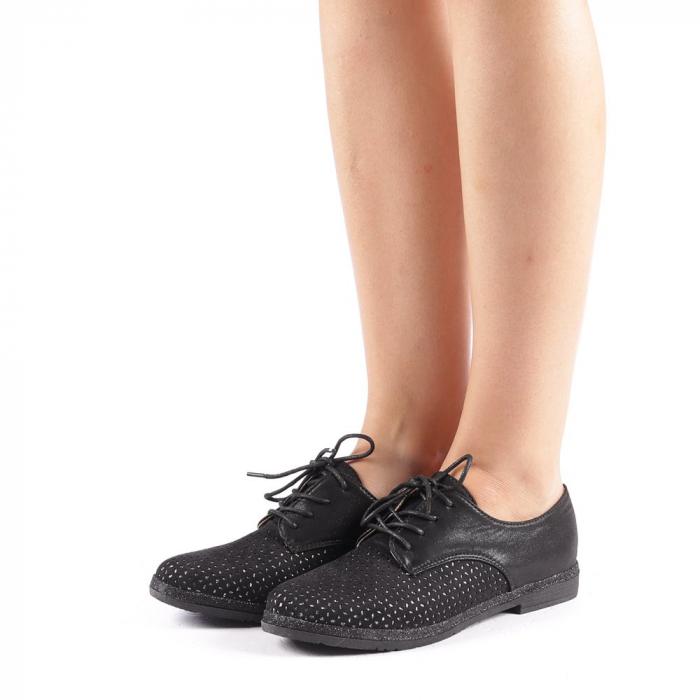 Pantofi dama Katie negri 1