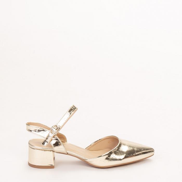 Pantofi dama Leela aurii 0