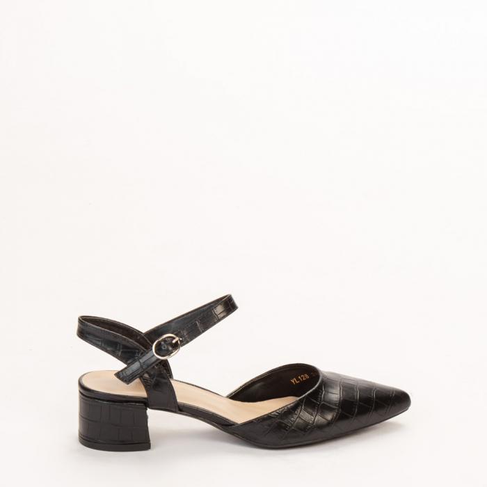 Pantofi dama Leela negri 0