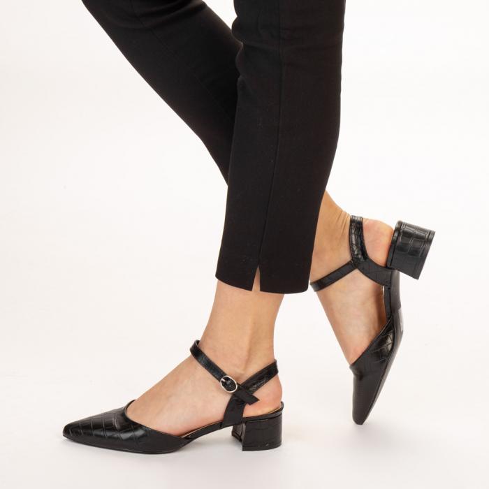 Pantofi dama Leela negri 2