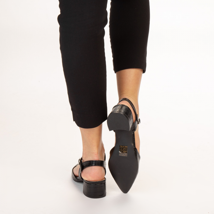 Pantofi dama Leela negri 3
