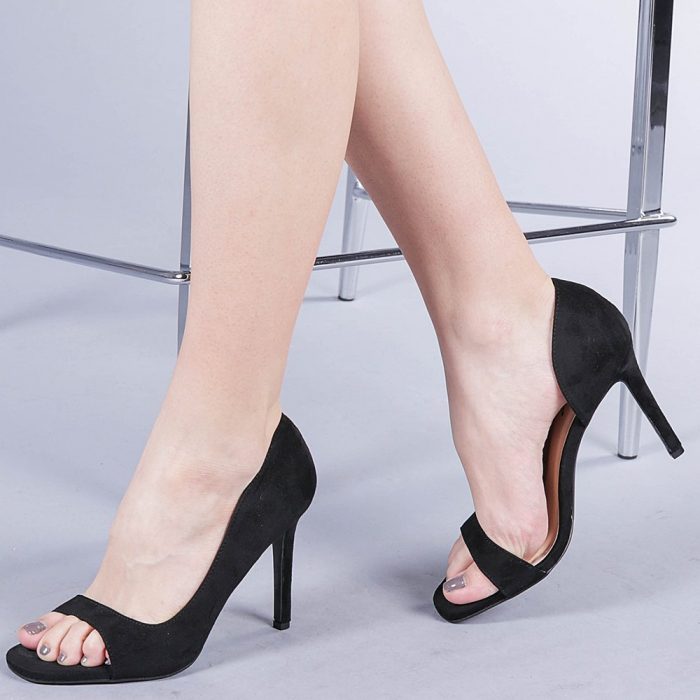 Pantofi dama Louanna negri 0