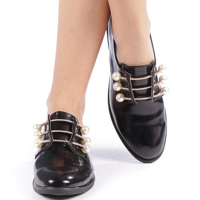 Pantofi dama Meliora negri 4