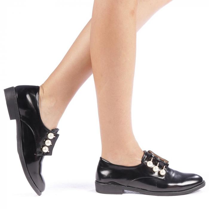 Pantofi dama Meliora negri 0