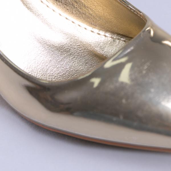 Pantofi dama Mirela aurii 2