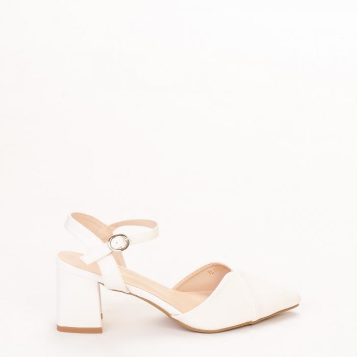 Pantofi dama Naden albi 0