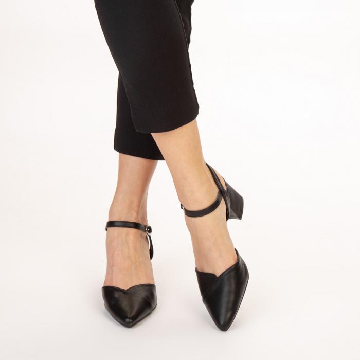 Pantofi dama Naden negri 1