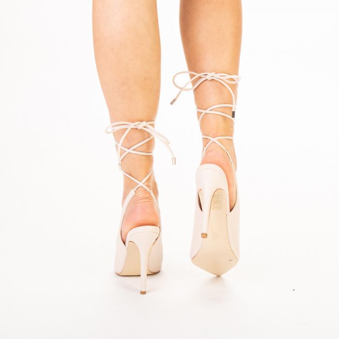 Pantofi dama Neiva bej 3