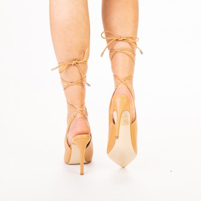 Pantofi dama Neiva camel 3