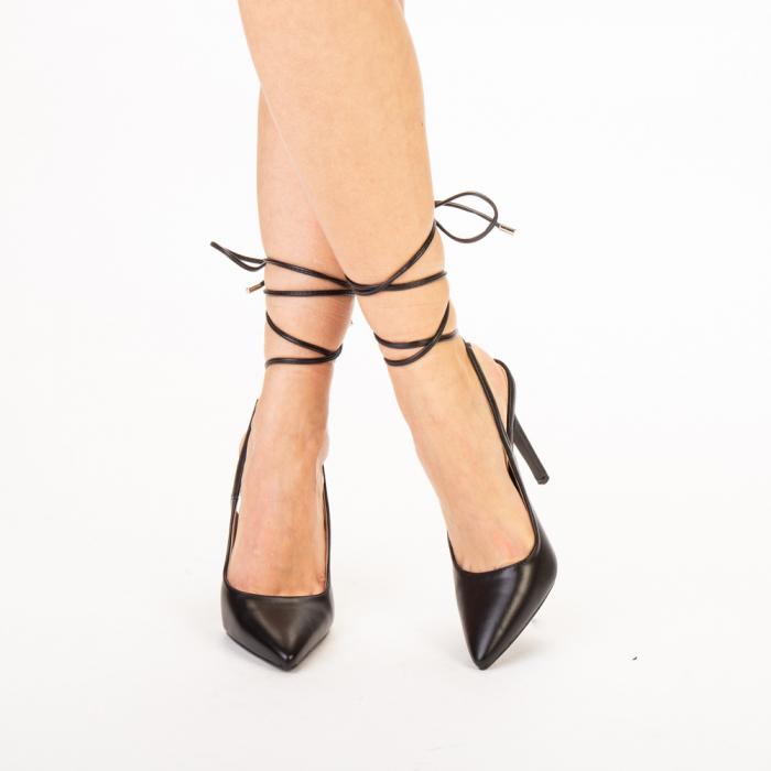 Pantofi dama Neiva negri 0