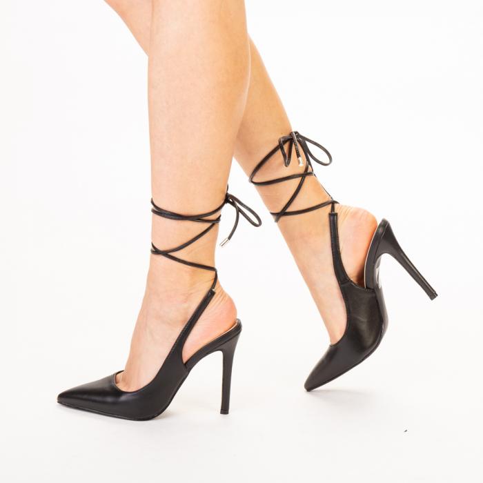 Pantofi dama Neiva negri 1