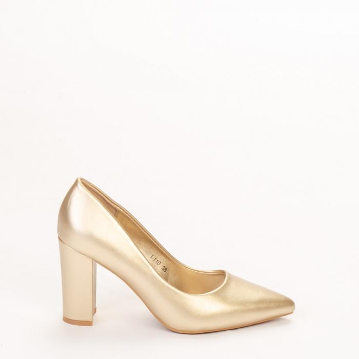 Pantofi dama Nelda aurii 0