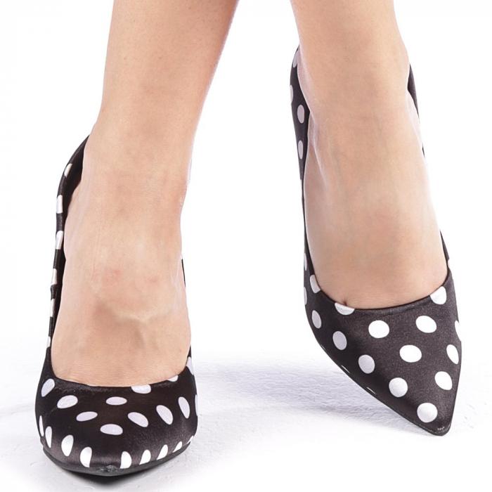 Pantofi dama Olguta negri 4