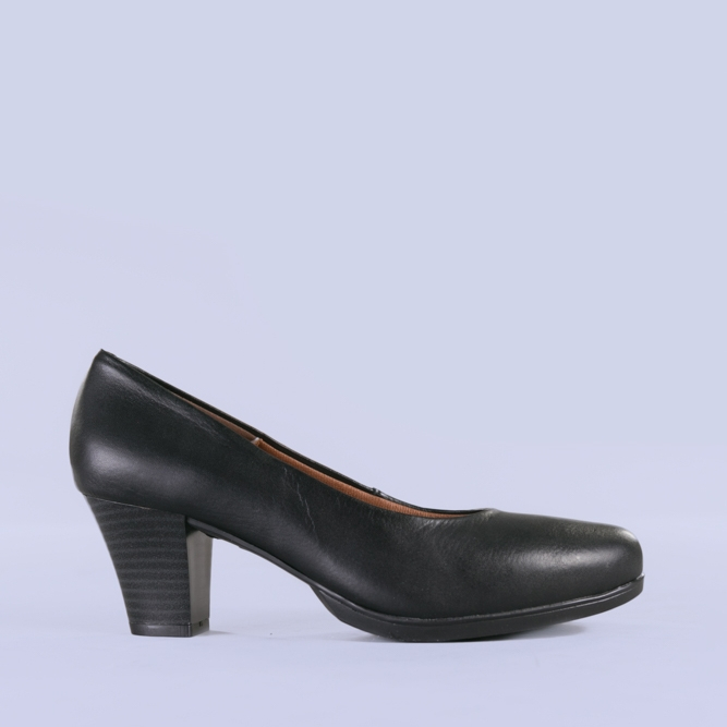 Pantofi dama piele Seea negri 0