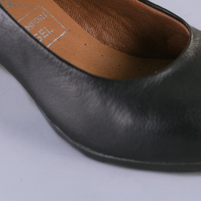 Pantofi dama piele Seea negri 4