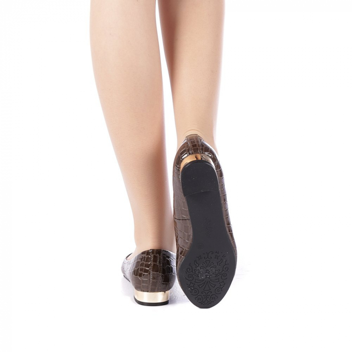 Pantofi dama Povva khaki 3