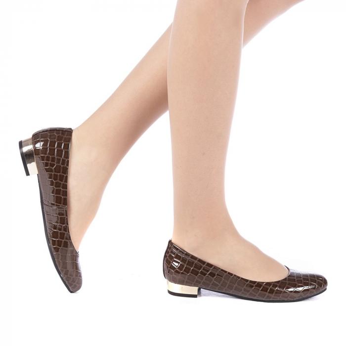 Pantofi dama Povva khaki 0