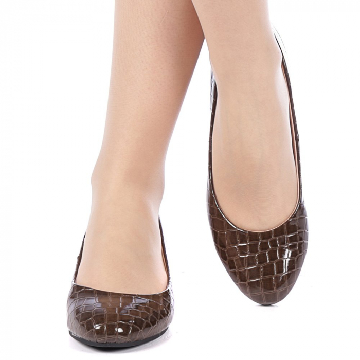 Pantofi dama Povva khaki 1
