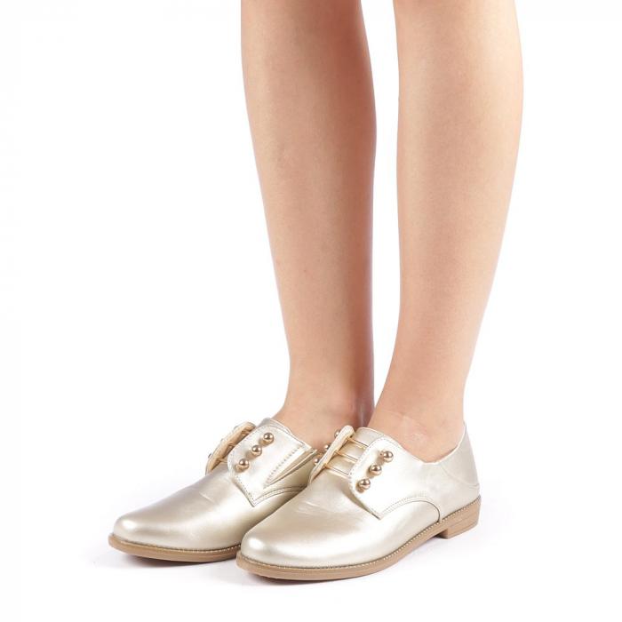 Pantofi dama Radmila aurii 1