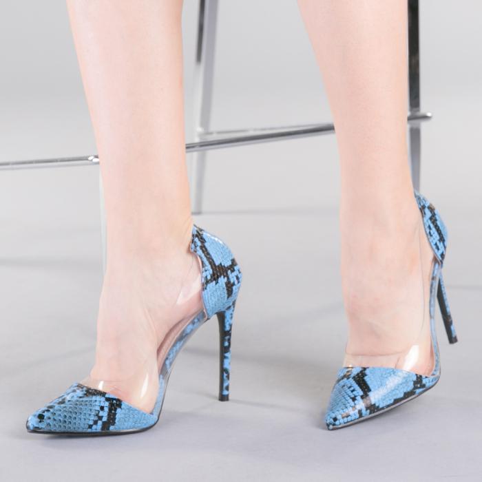 Pantofi dama Ruxi albastri 0