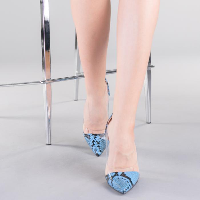Pantofi dama Ruxi albastri 1