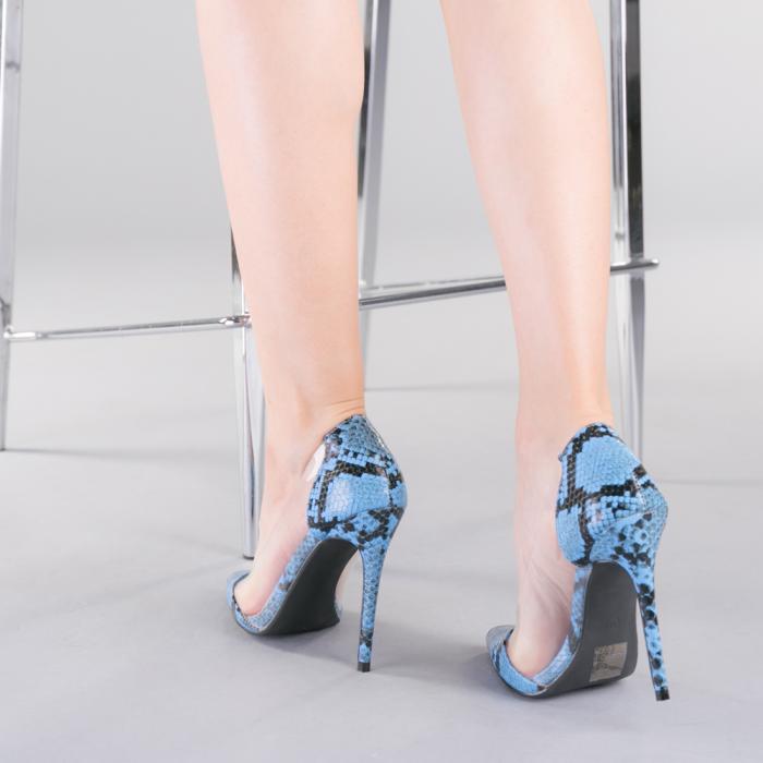 Pantofi dama Ruxi albastri 3