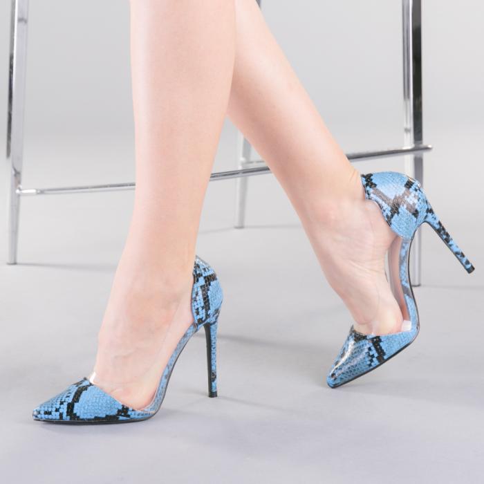 Pantofi dama Ruxi albastri 2