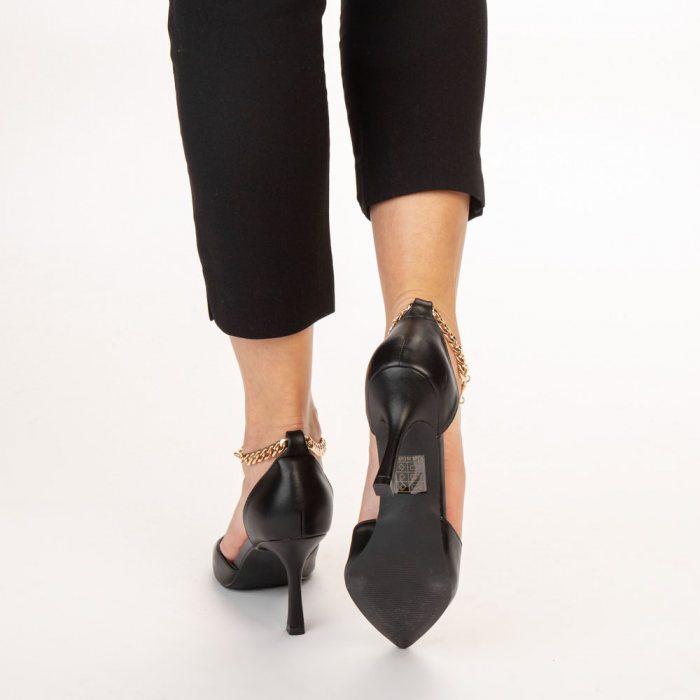 Pantofi dama Sofie negri 3