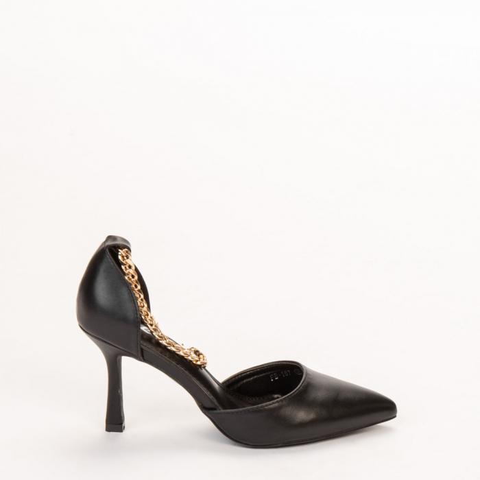 Pantofi dama Sofie negri 0