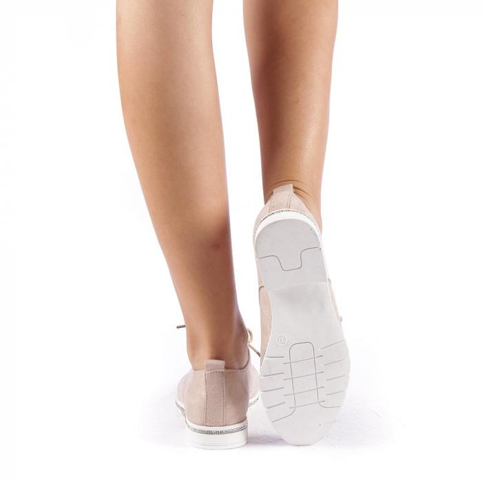 Pantofi dama Tarra bej 2