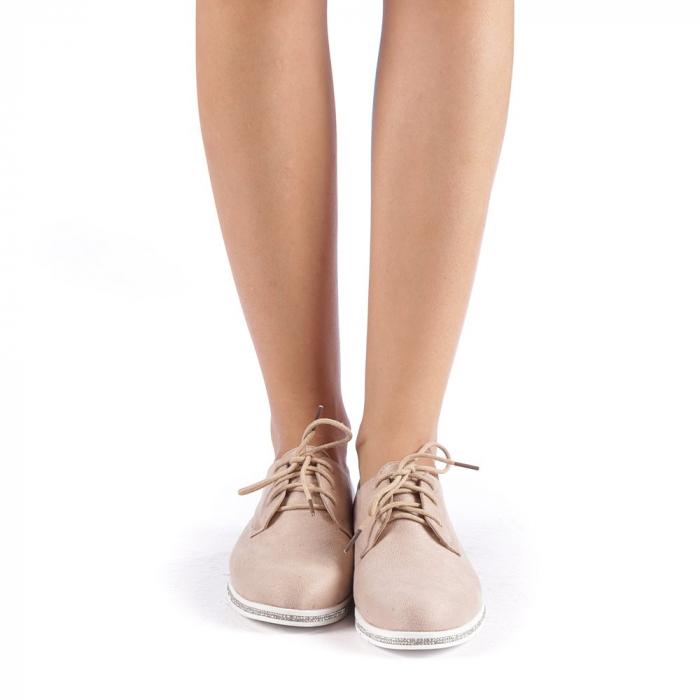 Pantofi dama Tarra bej 3