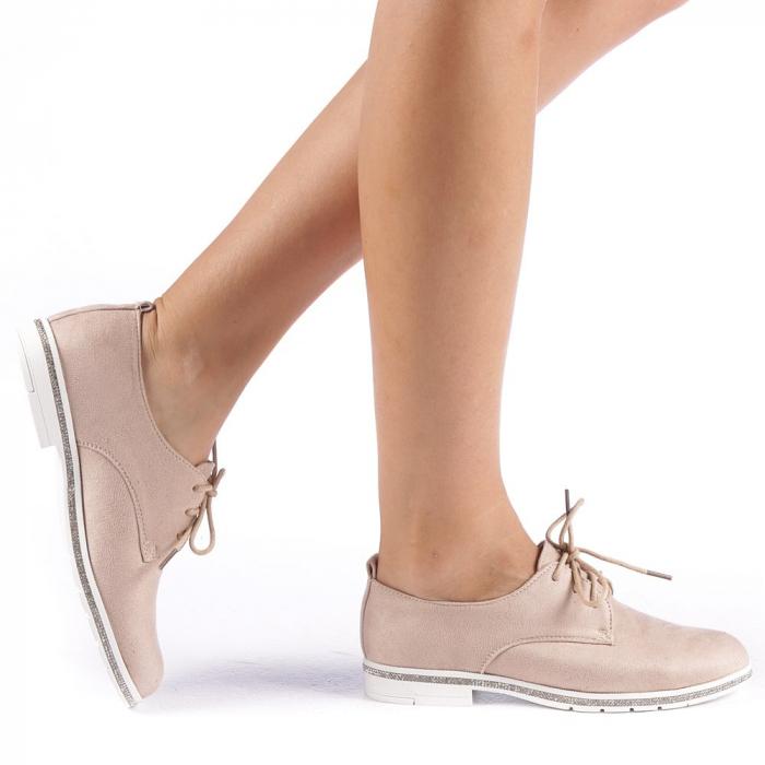 Pantofi dama Tarra bej 0