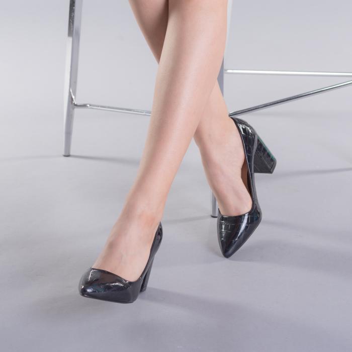 Pantofi dama Tina negri 3