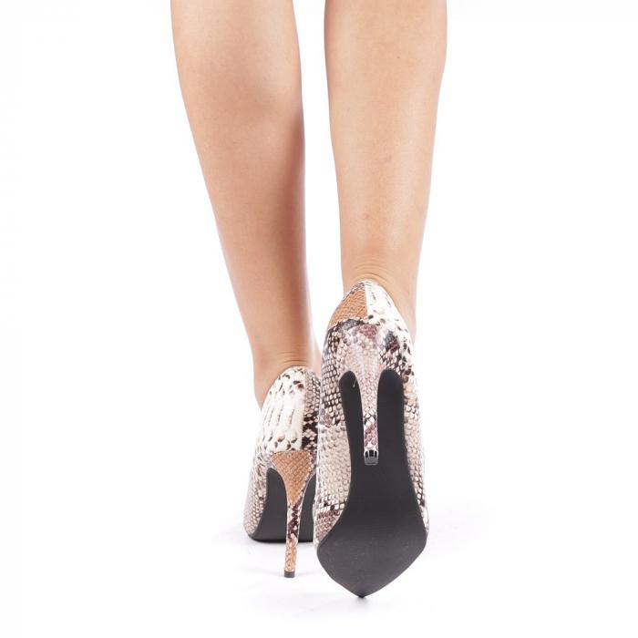 Pantofi dama Torra bej 2