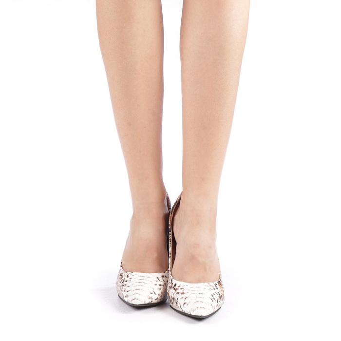 Pantofi dama Torra bej 3