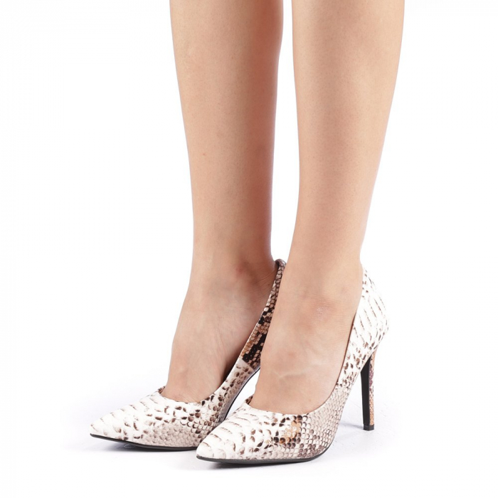 Pantofi dama Torra bej 1