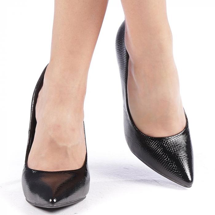 Pantofi dama Torra negri 4