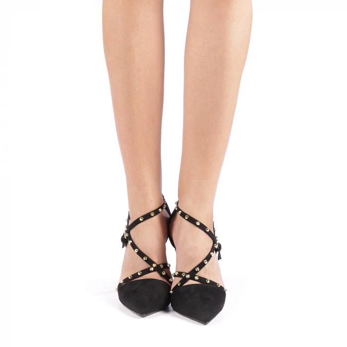 Pantofi dama Ursula negri 3