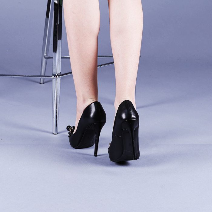 Pantofi dama Valentina negri 3