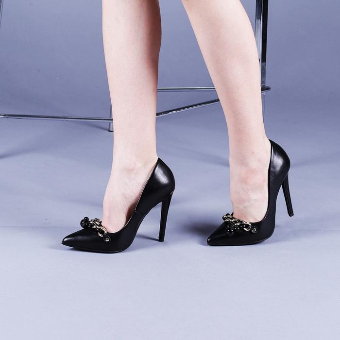 Pantofi dama Valentina negri 2