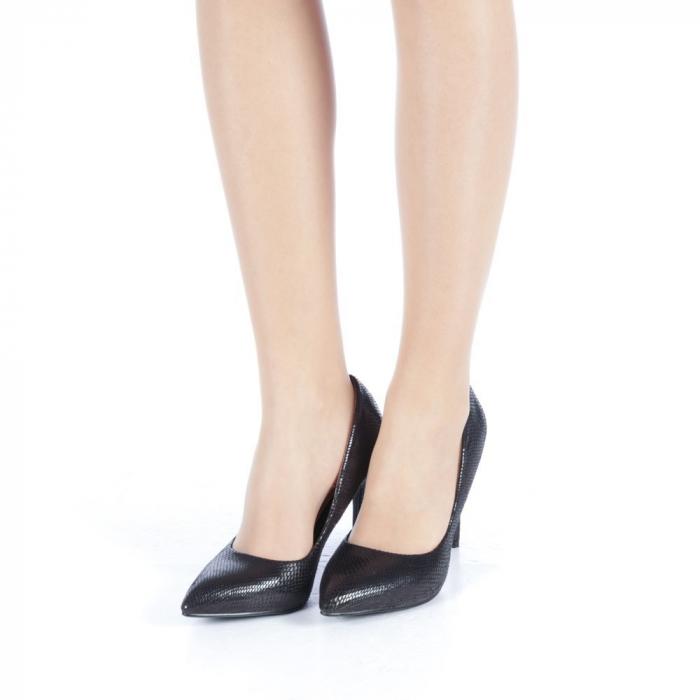 Pantofi dama Veria negri 2