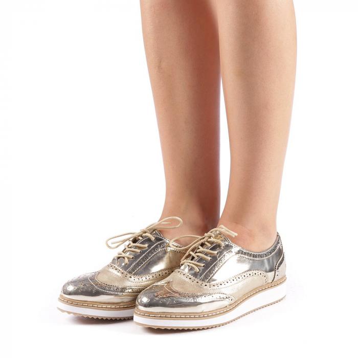 Pantofi dama Yvona aurii 1