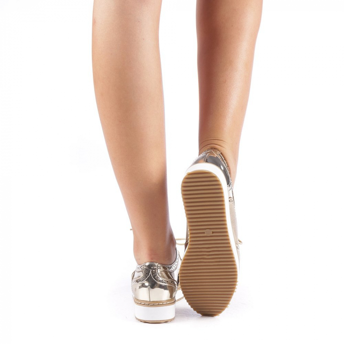 Pantofi dama Yvona aurii 2