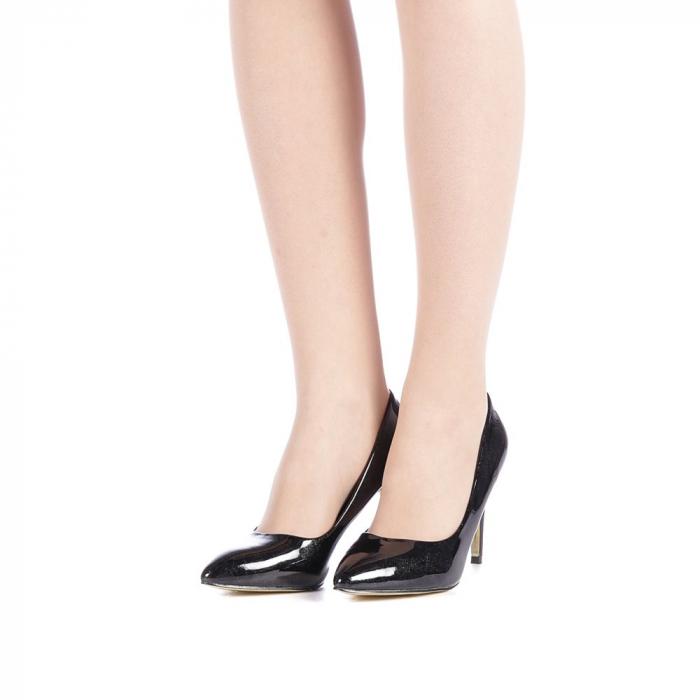 Pantofi dama Zaza negri 2