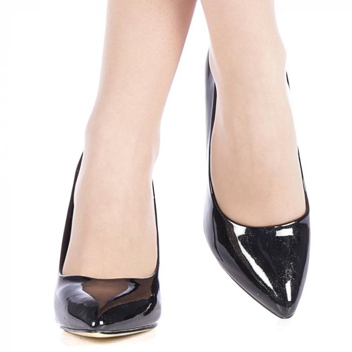 Pantofi dama Zaza negri 1