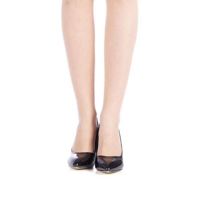 Pantofi dama Zaza negri 4