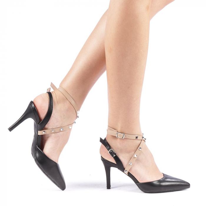 Pantofi dama Zelma negri 0