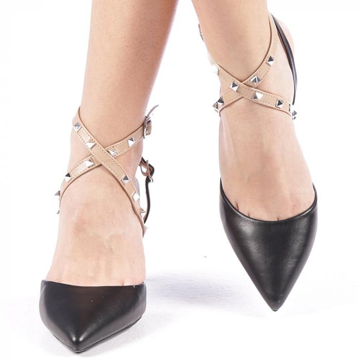 Pantofi dama Zelma negri 2